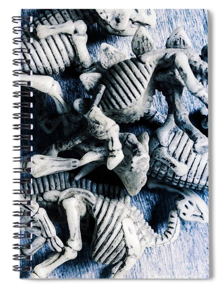 Bones From A Mass Extinction Event Spiral Notebook