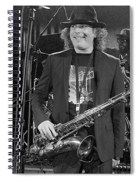 Boney James Smiling At Hub City '17 Spiral Notebook