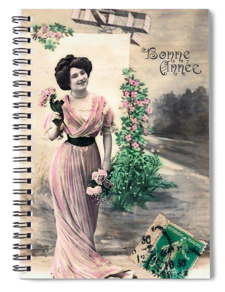 Bonne Annee Spiral Notebook