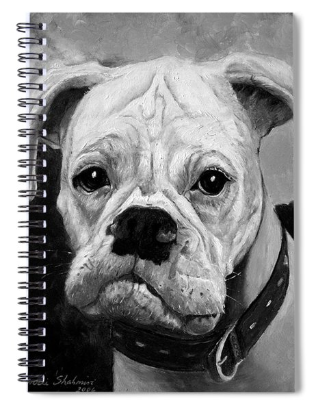 Boo The Boxer Spiral Notebook