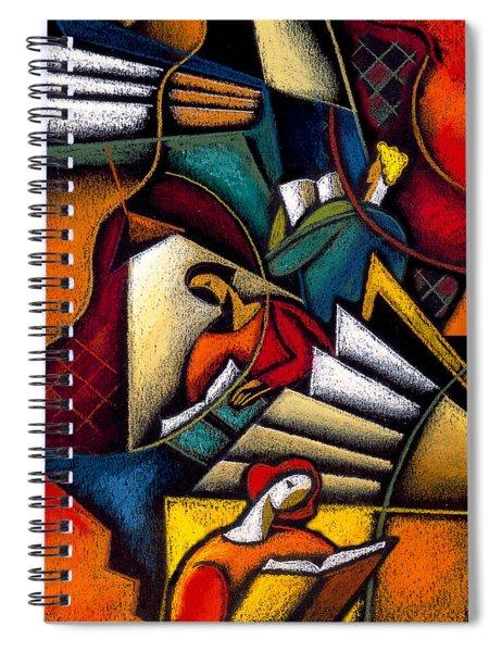 Book Spiral Notebook