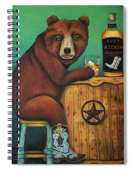 Boot Legger  Spiral Notebook