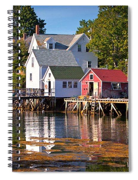Boothbay  Maine Spiral Notebook