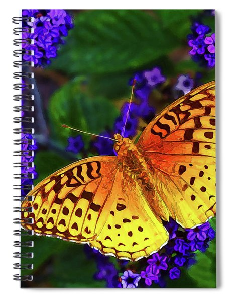 Boothbay Butterfly Spiral Notebook