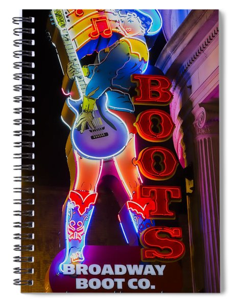 These Boots Are Made For Walking Spiral Notebook