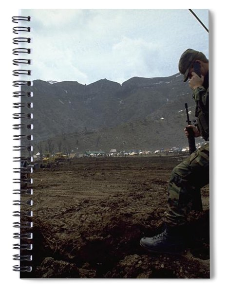 Boots On The Ground Spiral Notebook