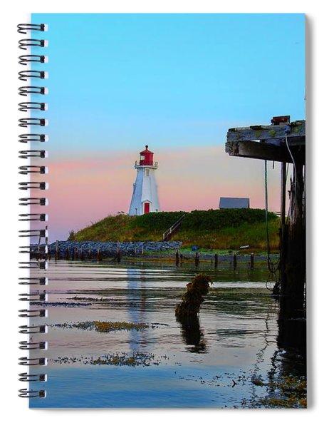 Border Lights Spiral Notebook
