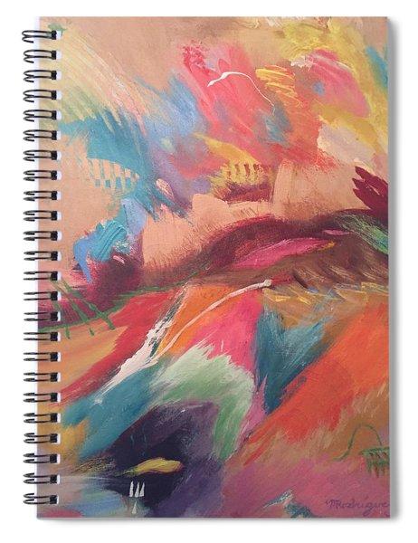 Borderland Spiral Notebook
