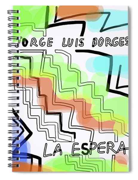 Borges The Wait Short Story  Spiral Notebook