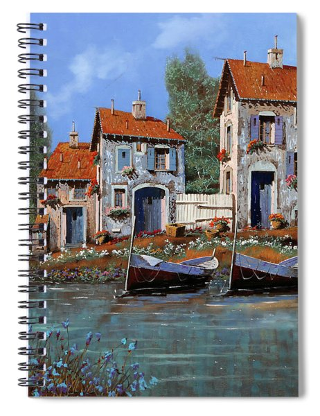 Borgo Viola Spiral Notebook