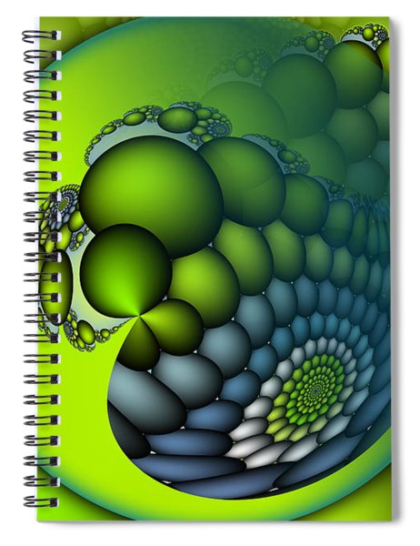 Born To Be Green Spiral Notebook
