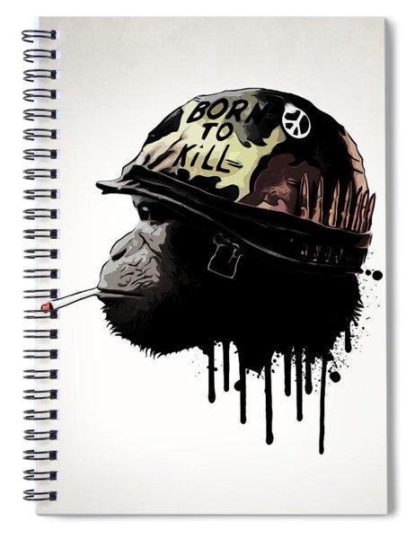 Born To Kill Spiral Notebook