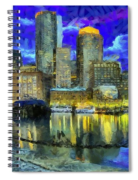 Boston 1 Spiral Notebook