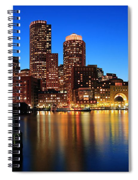 Boston Aglow Spiral Notebook
