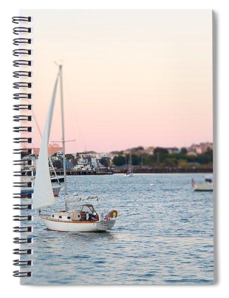 Boston Harbor View Spiral Notebook