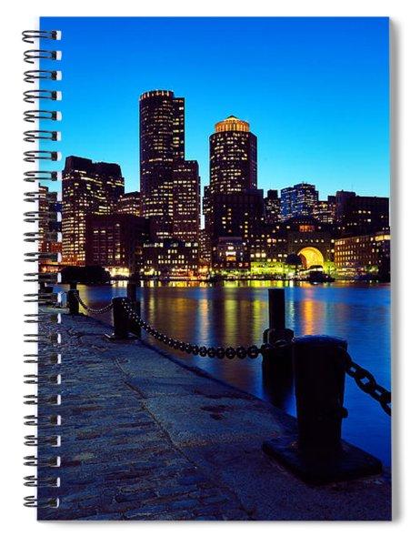 Boston Harbor Walk Spiral Notebook