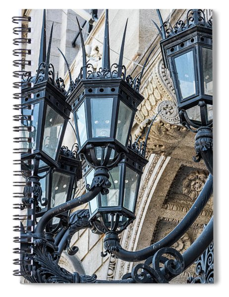 Boston Lamps Spiral Notebook