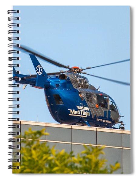 Boston Medflight Spiral Notebook