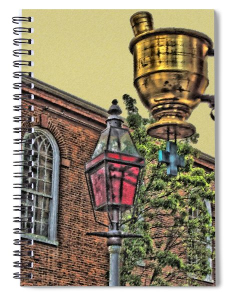 Boston Medicine Spiral Notebook