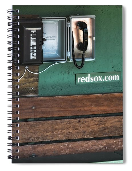 Boston Red Sox Dugout Telephone Spiral Notebook