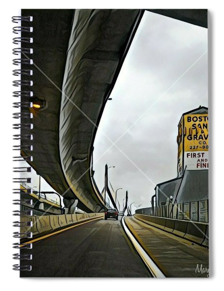 Boston Sand And Gravel  Spiral Notebook