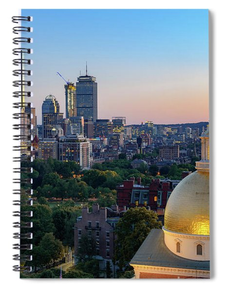 Boston State House Spiral Notebook