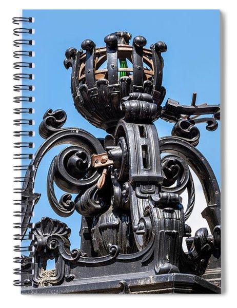 Boston Subway Station Ironwork Detail Spiral Notebook