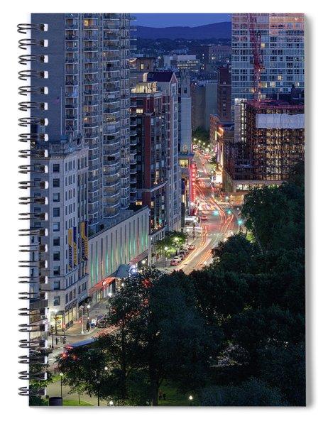 Boston Tremont St Spiral Notebook