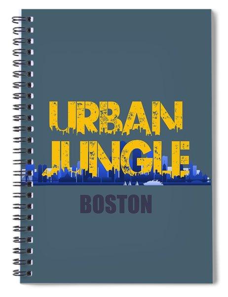 Boston Urban Jungle Shirt Spiral Notebook