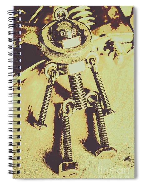 Bot The Builder Spiral Notebook