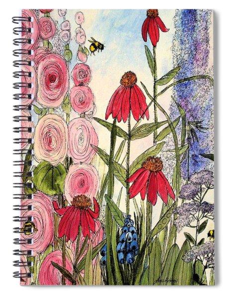 Botanical Wildflowers Spiral Notebook