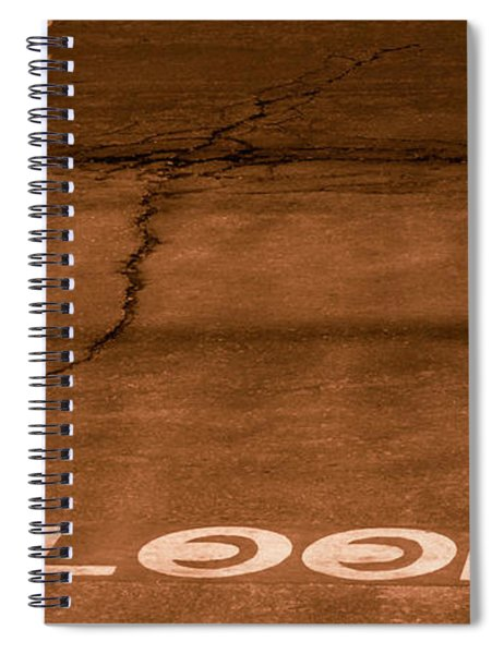 Both Ways - Urban Abstracts Spiral Notebook