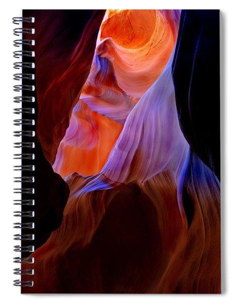 Bottled Light Spiral Notebook