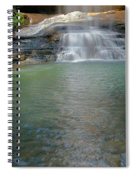 Bottom Of Falls Spiral Notebook