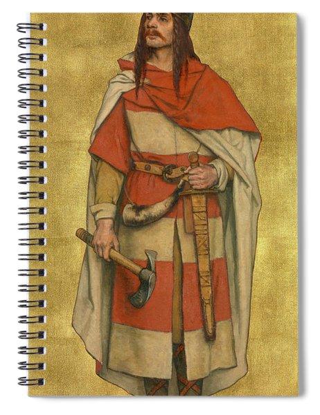 Baldwin Vii Of Flanders Spiral Notebook