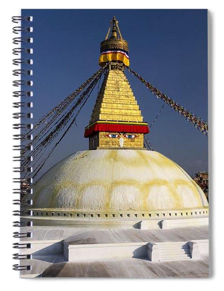 Boudhanath Stupa Spiral Notebook