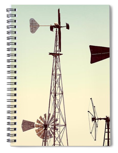 Bountiful Windmills Spiral Notebook