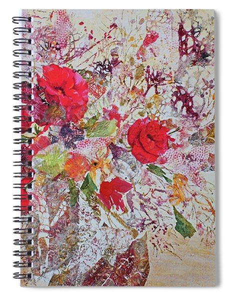 Paper Roses Spiral Notebook