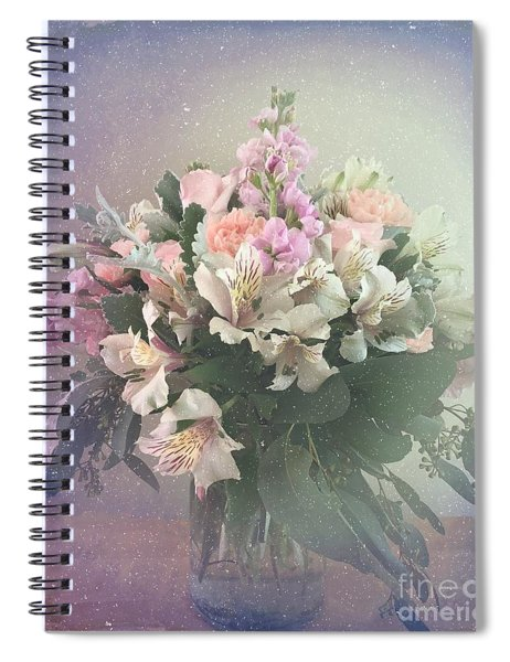 Bouquet Of Love Spiral Notebook