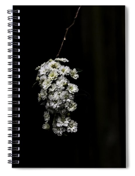 Bouquet Of White Spiral Notebook