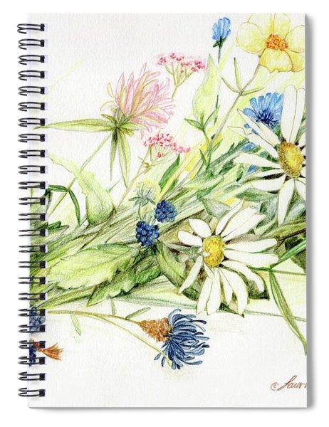 Bouquet Of Wildflowers Spiral Notebook