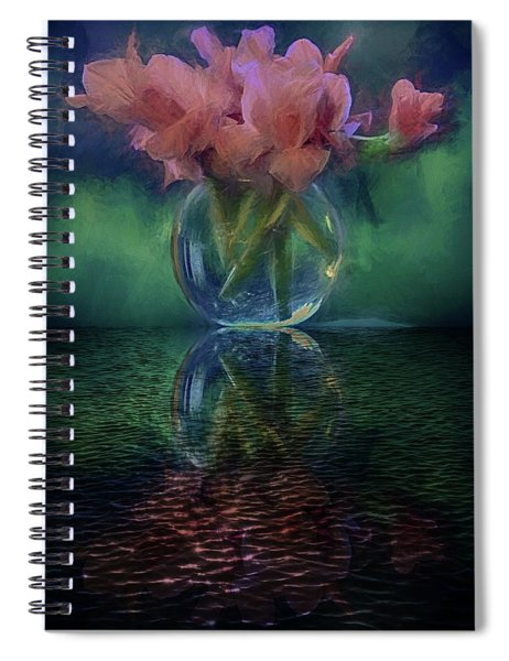 Bouquet Reflected Spiral Notebook