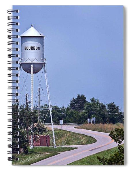 Bourbon Mo Tower Spiral Notebook