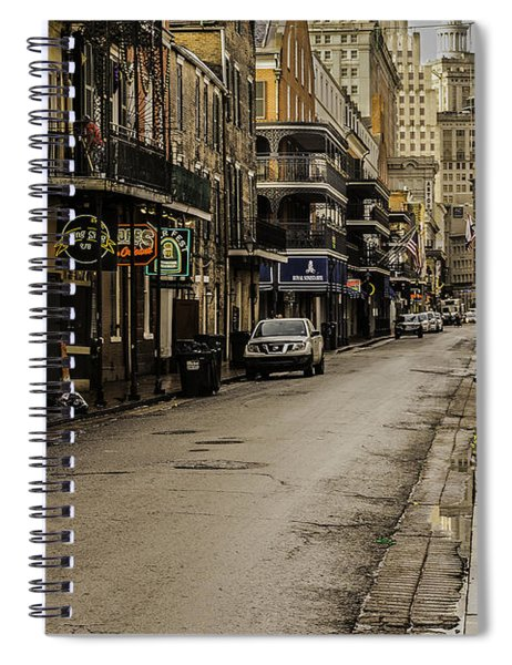 Bourbon Street By Day Spiral Notebook