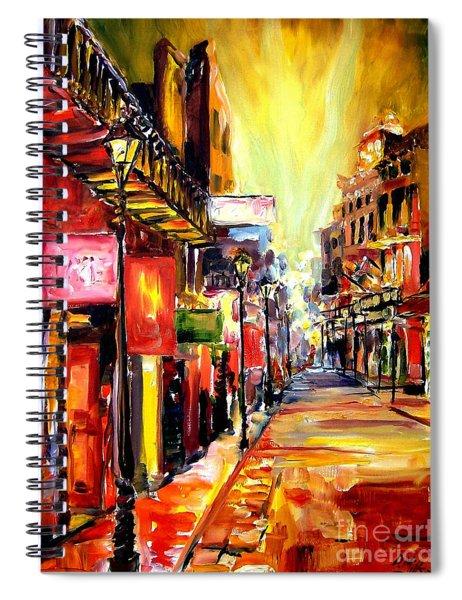 Bourbon Street Dazzle Spiral Notebook