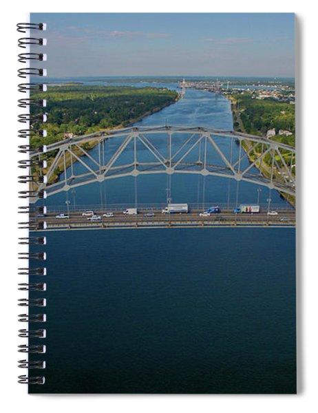 Bourne Bridge, Ma Spiral Notebook