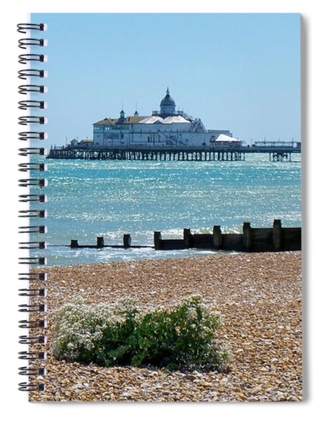 Bournemouth Seaside View Spiral Notebook