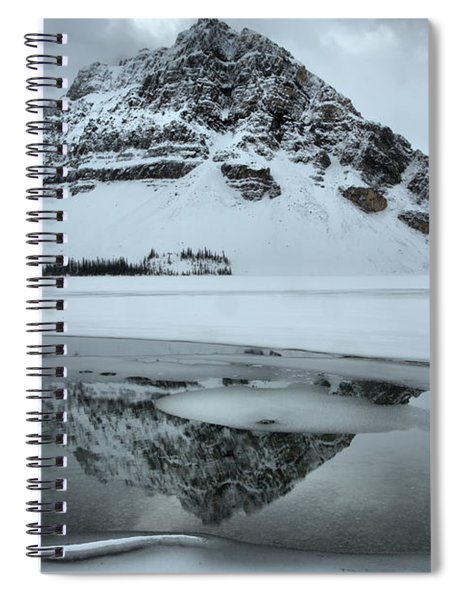 Bow Lake Winter Serenity Spiral Notebook