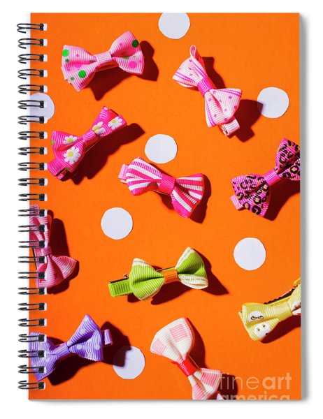 Bow Tie Party Spiral Notebook
