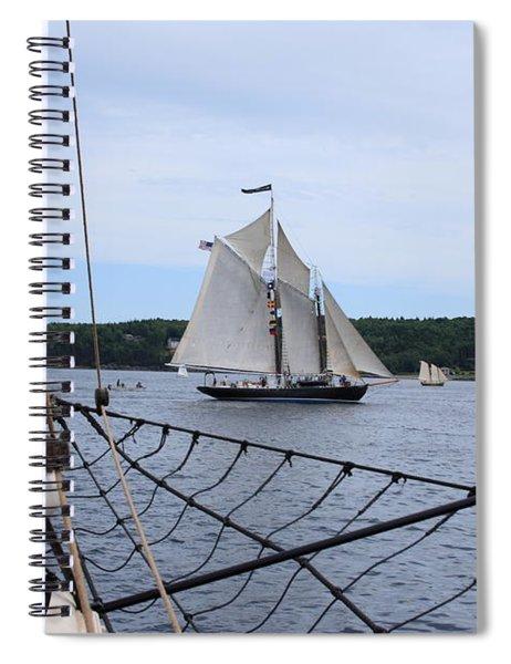 Bowditch Spiral Notebook